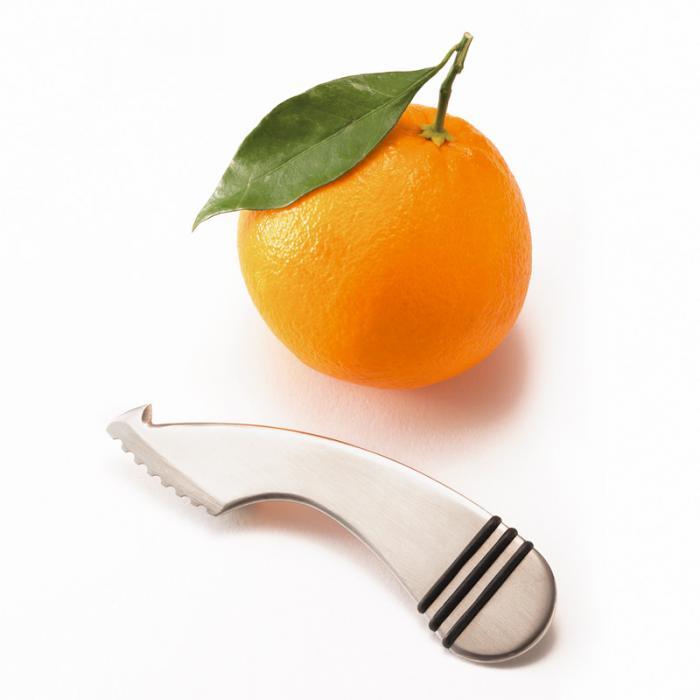 Orangenschäler Boomerang